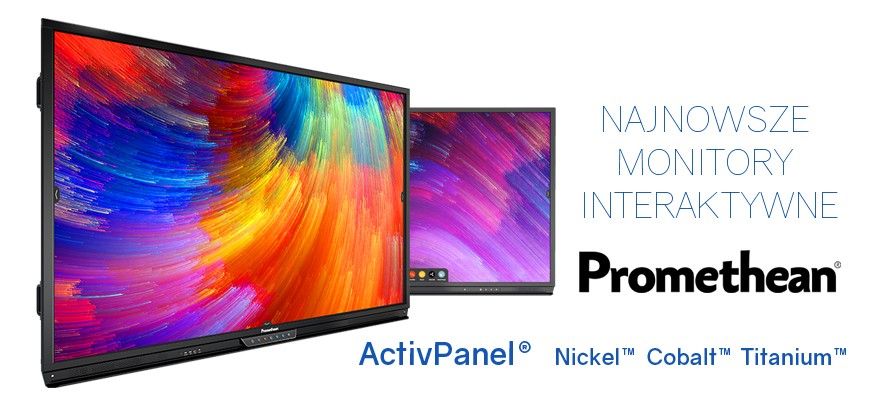 Najnowsze monitory interaktywne Promethean ActivPanel